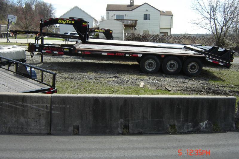 2008 Interstate 96X20 Deckover Equipment Trailer