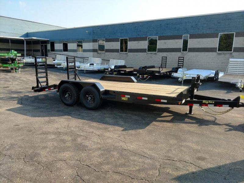 2019 Big Tex Trailers 14ET-18BK-KR Equipment Trailer