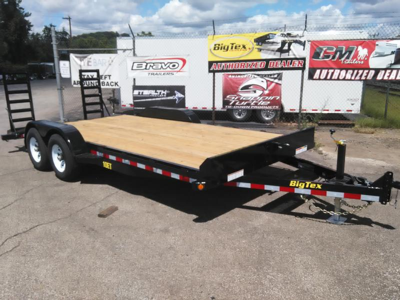 2017 Big Tex Trailers 10ET-18BK-KR Equipment Trailer