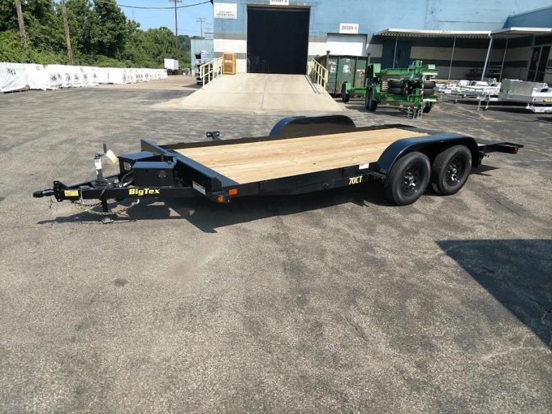 2018 Big Tex Trailers 83X18 Car Hauler 70CT-18BK-P Car / Racing Trailer