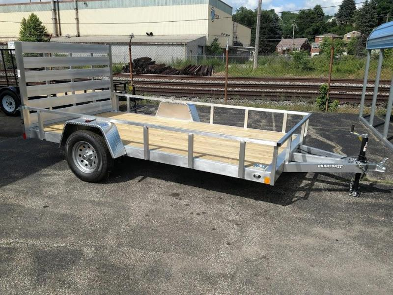 2019 Stealth Trailers 6.5 X 12  Phantom ll Series Aluminum Utility Trailer
