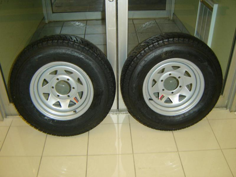 SPECIAL $75 EACH BIAS PLY TIRE ON 6 LUG WHEEL ASSEMBLY