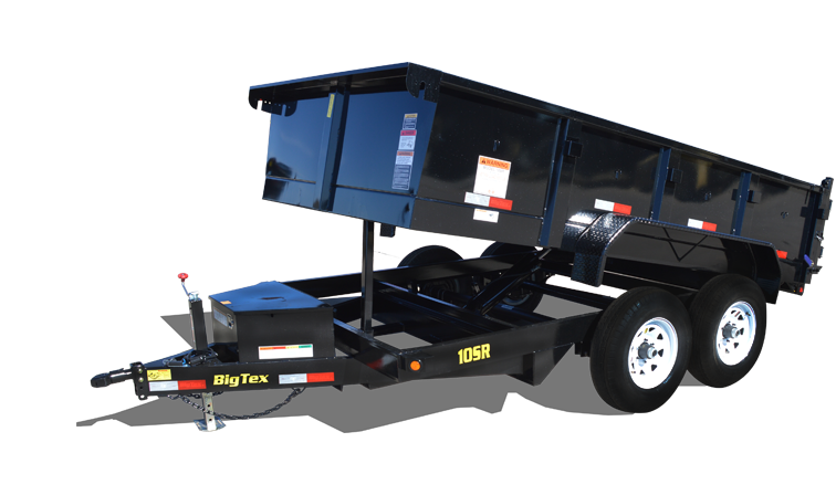 2018 Big Tex Trailers 10SR-12XLBK7SIR Dump Trailer