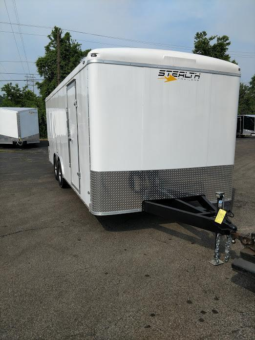 2019 Stealth Trailers 8.5X20TA3 Liberty SE Round Top Enclosed Cargo Trailer