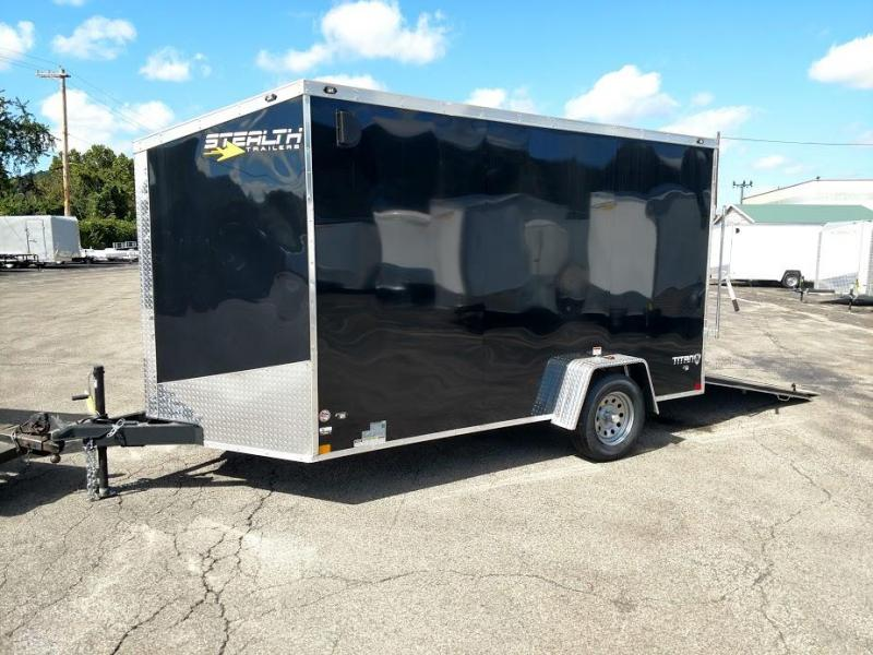 2019 Stealth Trailers 7 X 12 Titan Series STT712SAE Enclosed Cargo Trailer