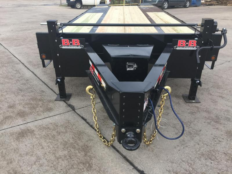 2019 Behnke FB8X25PT-20E Equipment Trailer