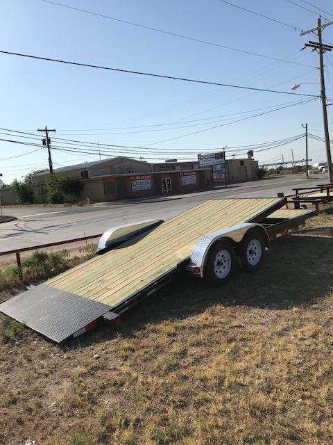 2020 PJ Trailers T5J2032ESTKV Equipment Trailer