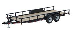 2018 PJ Trailers CCJ2072BSSKMT Equipment Trailer
