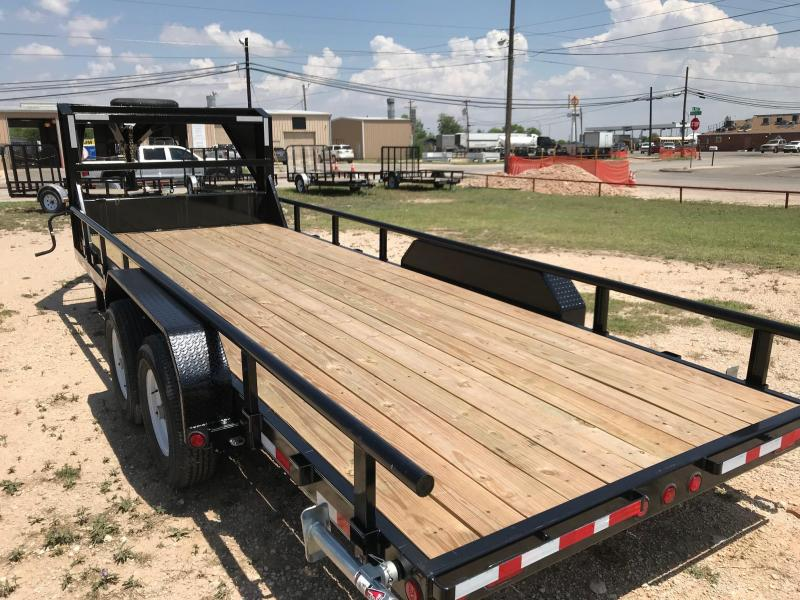 2018 PJ Trailers CCR2072BSSK Equipment Trailer