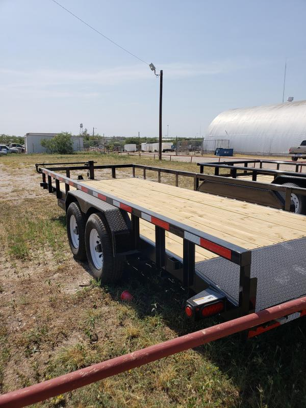 2018 Top Hat Trailers Equipment Hauler Utility Trailer
