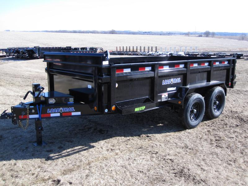 "Load Trail 83"" x 14' Low-Pro Dump Trailer"