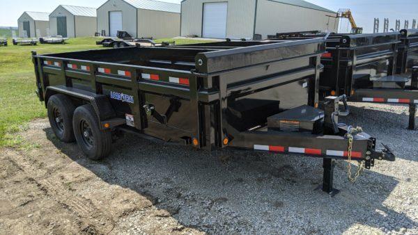 "Load Trail 83"" x 14' Low-Pro Dump Trailer"