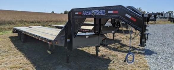 "Load Trail 102"" x 32' Tandem Low-Pro Gooseneck Trailer"