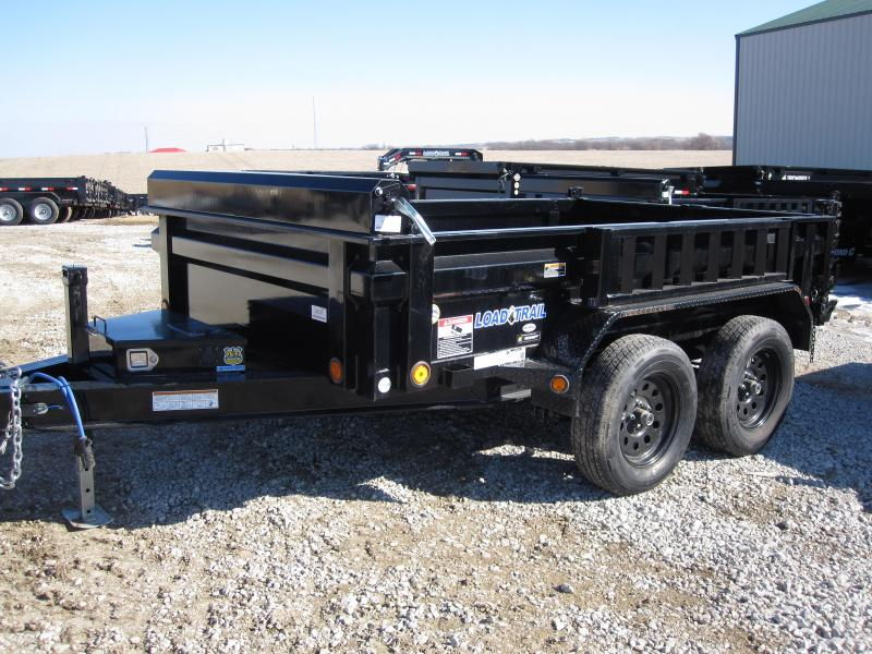 "Load Trail 72"" x 10' Dump Trailer"