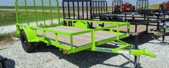 "Load Trail 77"" x 12' Single Axle Utility Trailer"