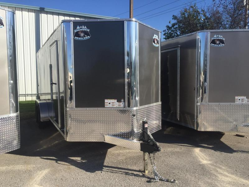2018 Other 7x18 Charcoal 7K Enclosed Cargo Trailer