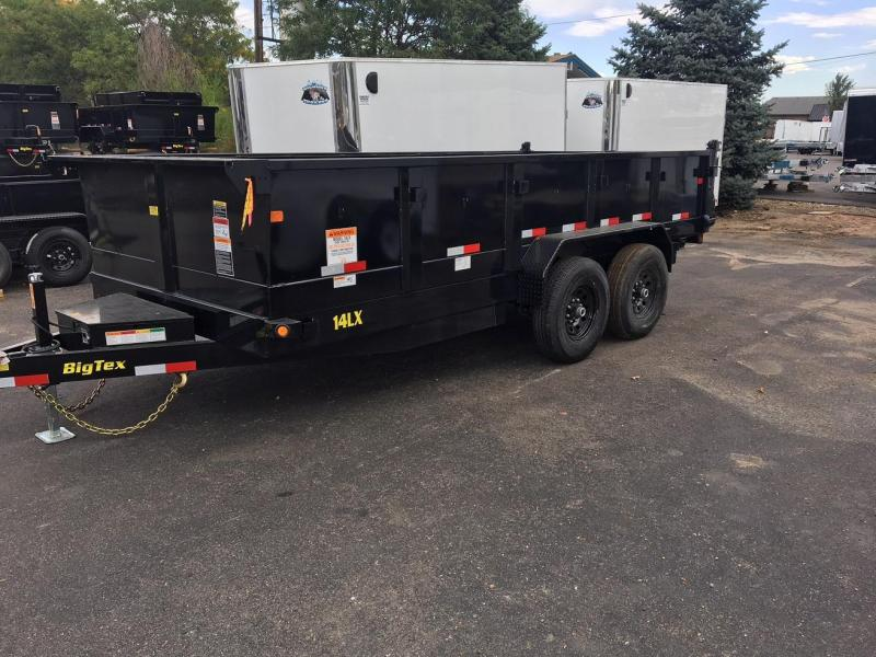2019 Big Tex Trailers 14LX-14 W/SCISSOR LIFT HOIST Dump Trailer-CO Springs