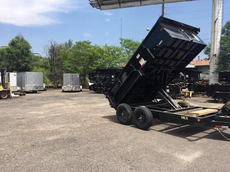 2019 Big Tex Trailers 14LX-12 w/Scissor Lift Hoist Dump Trailer-WHEAT RIDGE