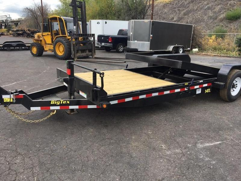 2018 Big Tex Trailers 14TL-22 Gravity Tilt Trailer Equipment Trailer-WHEAT RIDGE
