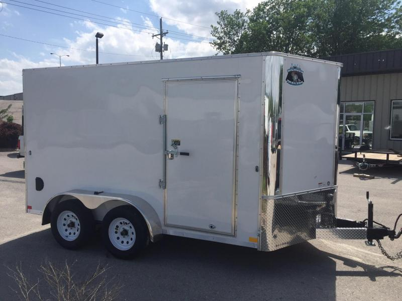 2018 Other 7x12 Big Horn White Contractor Enclosed Cargo Trailer