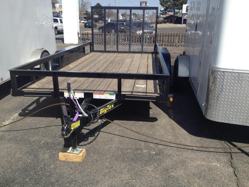 2017 Big Tex Trailers 50LA-16 Rail Side Utility Trailer-CO Springs