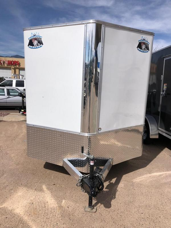 2020 R&M 7x12 v-nose TAS Enclosed Cargo Trailer-CO Springs