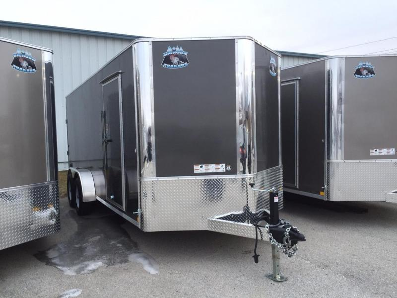 2018 RM Manufacturing 7x18 Contractor 10K Enclosed Cargo Trailer