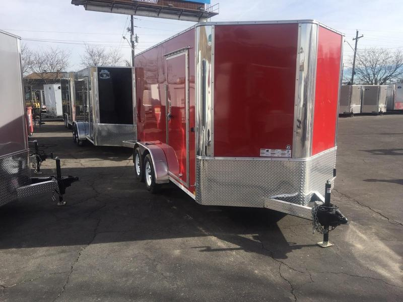 2019 R&M Manufacturing 7x12 TAC Enclosed Cargo Trailer