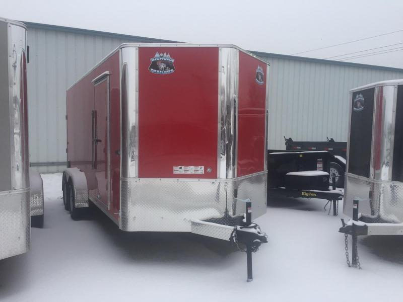 2018 RM Manufacturing EC 7 16 TA Enclosed Cargo Trailer