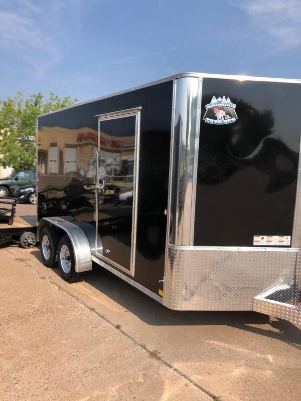 2020 R&M 7x14 v nose TAC Enclosed Cargo Trailer-CO Springs