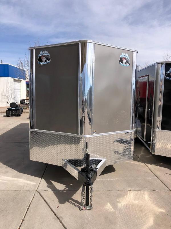 2020 R&M 7X16 V-NOSE TAC Enclosed Cargo Trailer-CO Springs