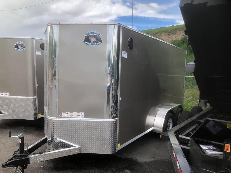 2020 R&M 6x14 v-nose (TAC) Enclosed Cargo Trailer-Wheat Ridge