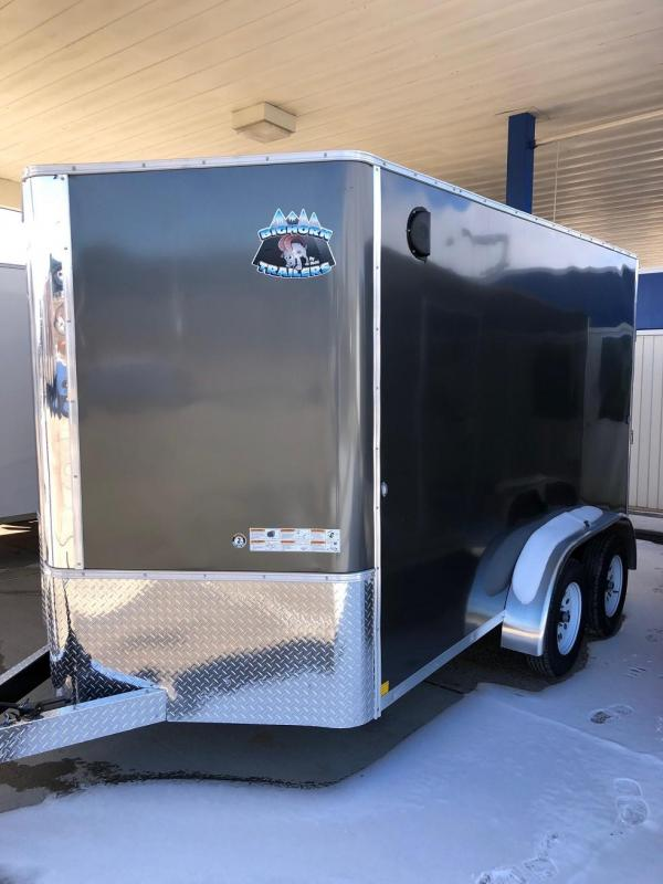 2019 R&M Manufacturing 7x12 TAS Enclosed Cargo Trailer-CO SPRINGS