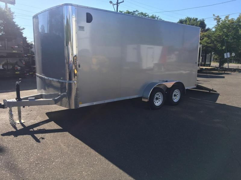 2019 R and M Manufacturing EC 7 16 TA (CONTRACTOR GRADE) Enclosed Cargo Trailer-WHEAT RIDGE