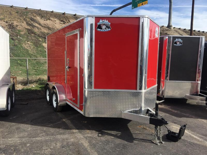 2019 R&M 7x12 TAC Enclosed Cargo Trailer-Wheat Ridge