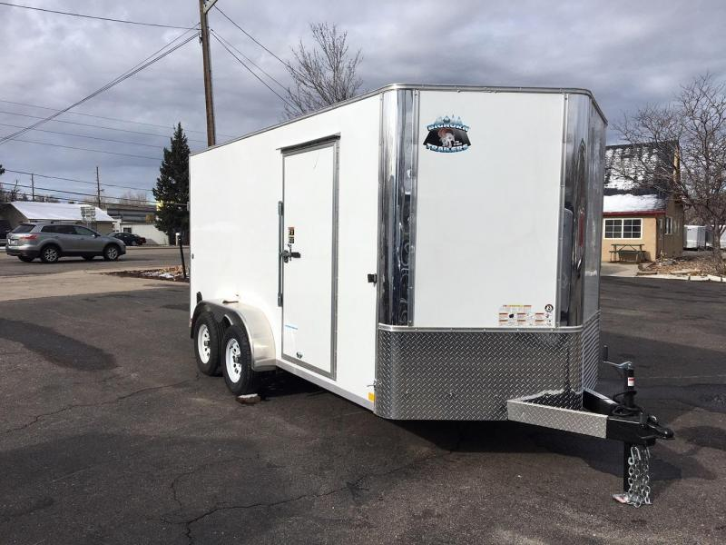 2019 R and M Manufacturing 7x14 v-nose Enclosed Cargo Trailer