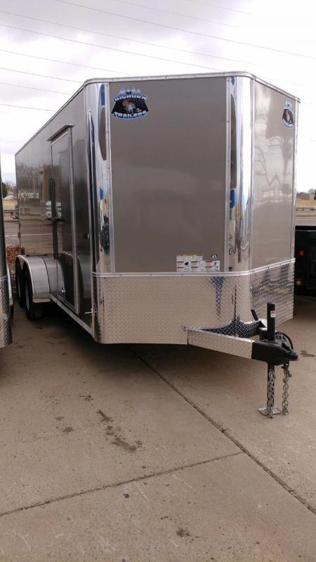 2018 RM Manufacturing EC 7 16 TA (CONTRACTOR GRADE) Enclosed Cargo Trailer-CO Springs
