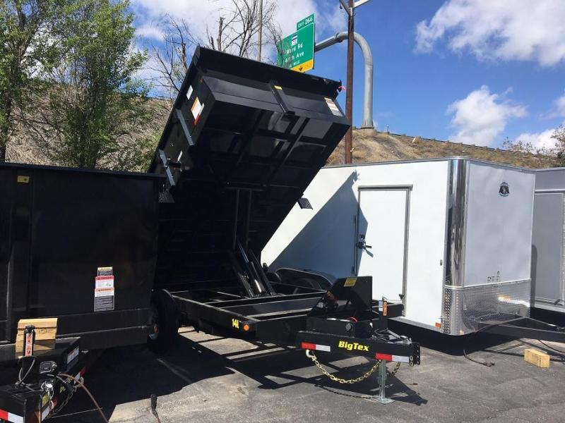 2018 Big Tex Trailers 14LX-14 W/SCISSOR LIFT HOIST Dump Trailer-WHEAT RIDGE