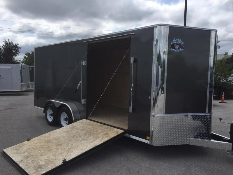 2019 R and M Manufacturing EC 7 18 TA SIDE RAMP Enclosed Cargo Trailer