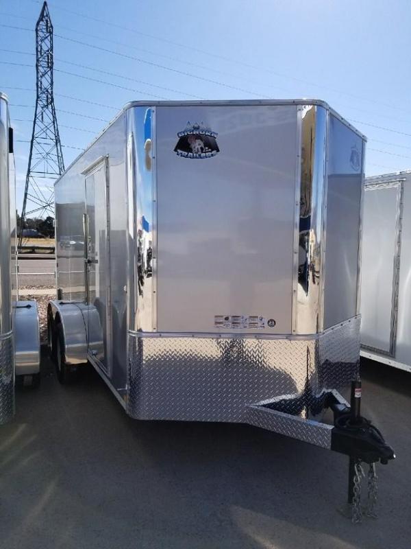 2018 RM Manufacturing EC 7 12 TA (CONTRACTOR GRADE) Enclosed Cargo Trailer-CO SPRINGS