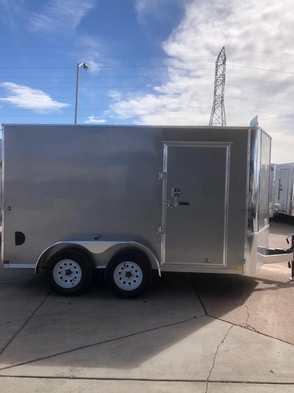 2019 RM Manufacturing EC 7 12 TA (CONTRACTOR GRADE) Enclosed Cargo Trailer-CO SPRINGS