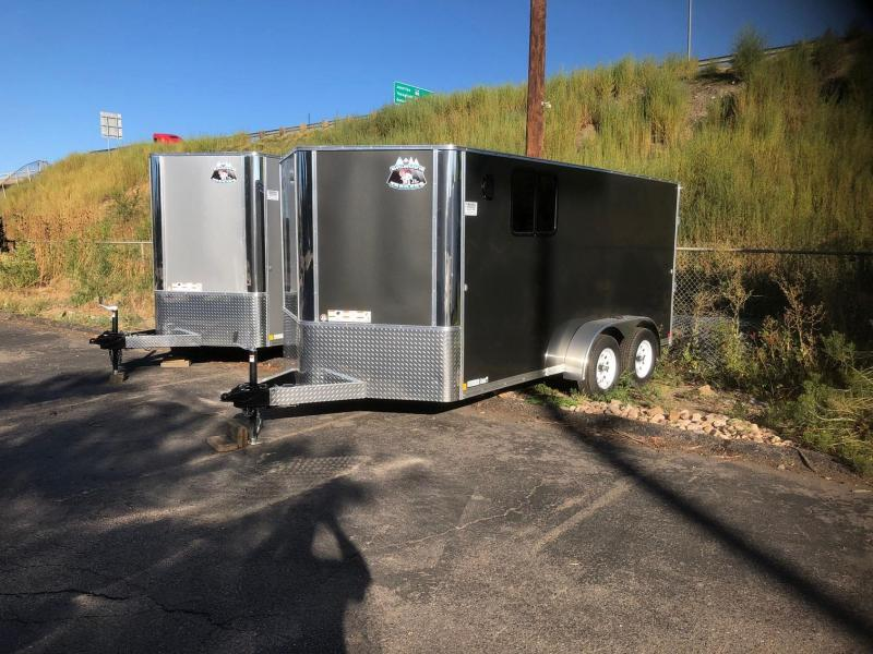 2020 R&M  7x14 v-nose (Lo-Pro) Enclosed Cargo Trailer-WHEAT RIDGE