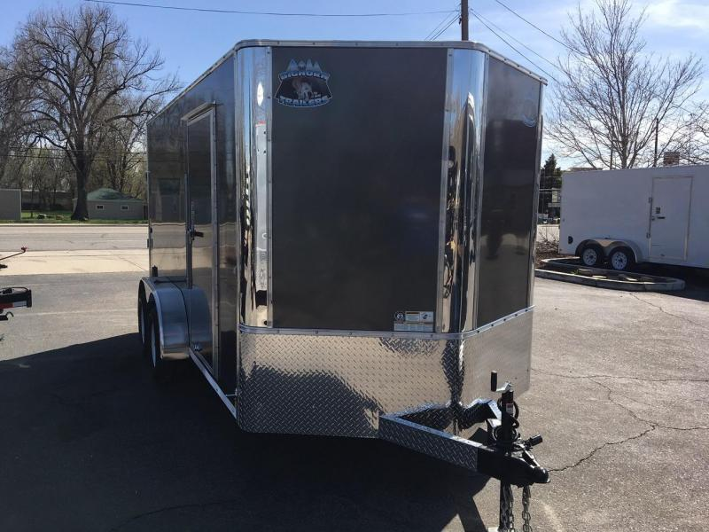 2019 R&M 7x14 v-nose TAC Enclosed Cargo Trailer