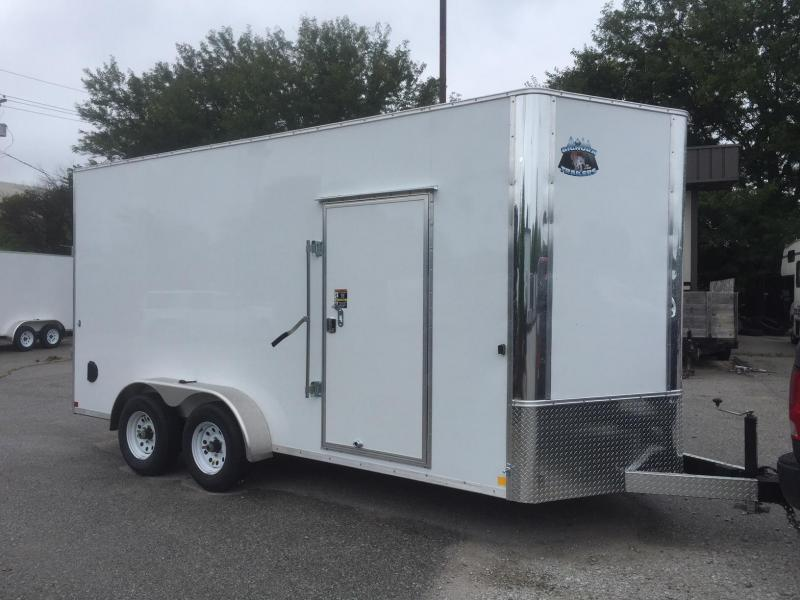 2019 R and M Manufacturing EC 7 16 TA90 Enclosed Cargo Trailer