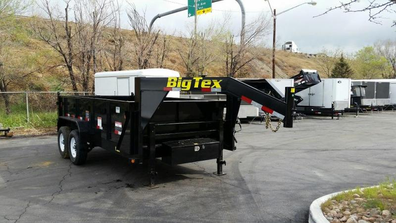 2017 Big Tex Trailers 14GX-14 Dump Trailer-CO SPRINGS