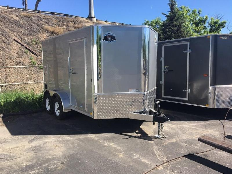 2019 R and M Manufacturing 7X12 V-NOSE Enclosed Cargo Trailer