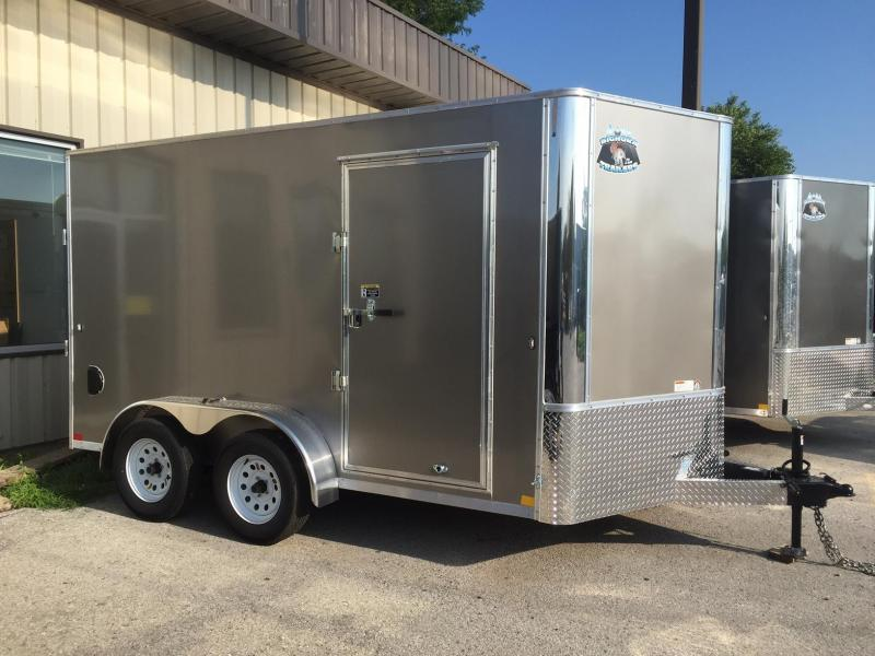 2019 Other Big Horn Contractor Enclosed Cargo Trailer