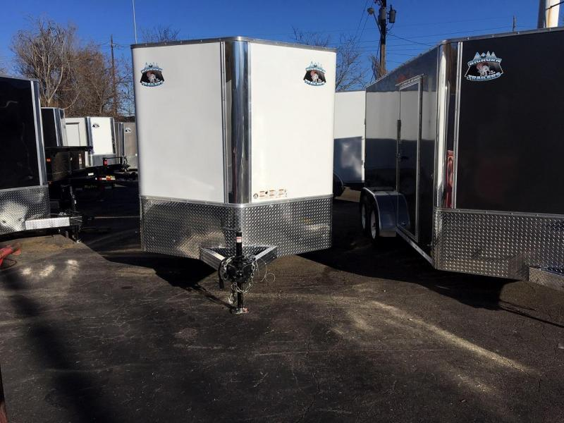 2020 R&M 7x12v-nose TAS Enclosed Cargo Trailer-Wheat Ridge