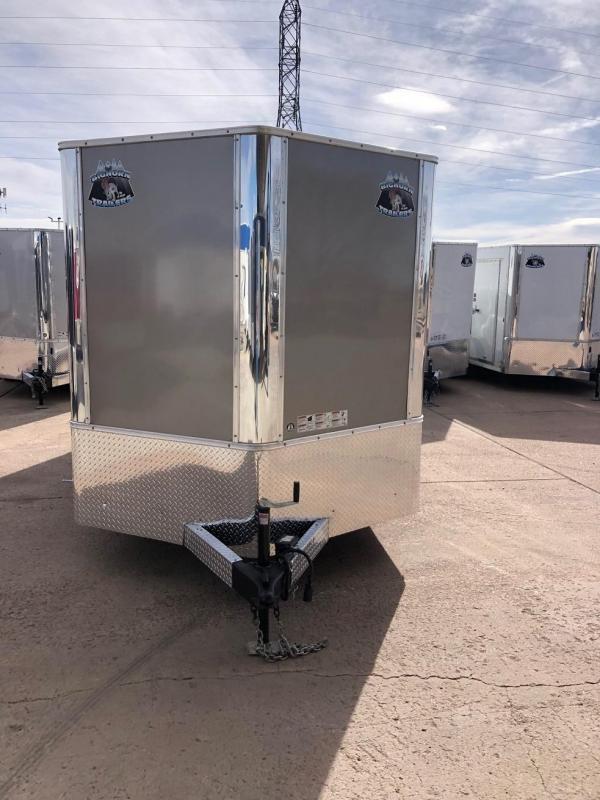2020 R&M 7x14 v nose Enclosed Cargo Trailer-CO SPRINGS