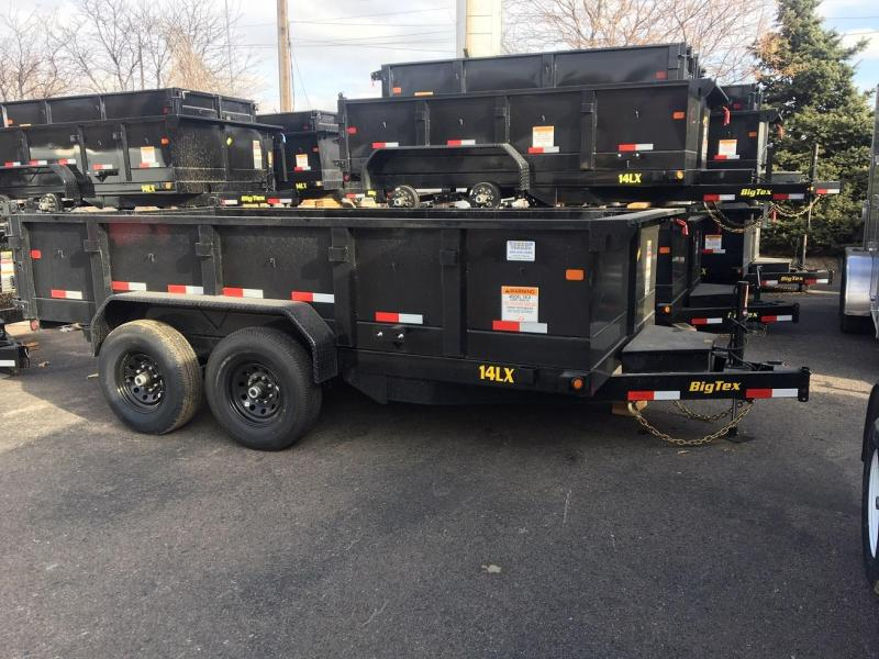 2019 Big Tex Trailers 14LX-14 w/Hydraulic Jack Dump Trailer-WHEAT RIDGE